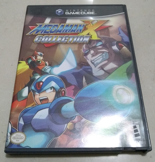 Mega Man X Collection Gamecube Original Americano E Completo