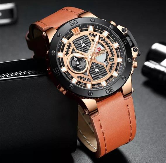 Promoção Dia Dos Pais Relógio Masculino Naviforce