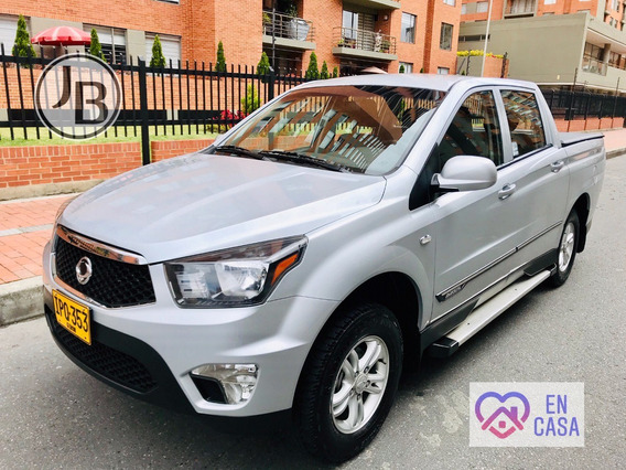 Ssang Yong Actyon Sport Pick-up 4x4 Mt 6v Diesel Nueva