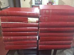 Lote Enciclopédia Barsa 16 Volumes Ano 1968 Raro Bom Estado