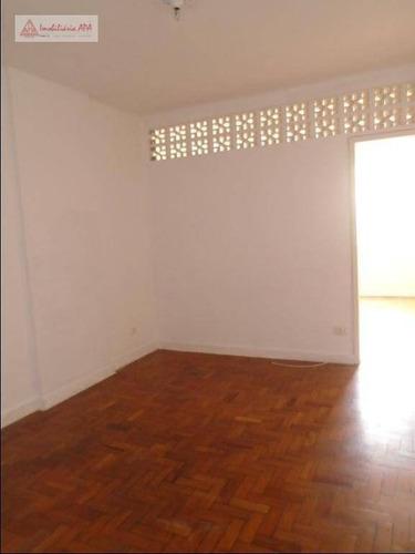 Apartamento Com 1 Dormitório Para Alugar, 43 M² Por R$ 1.400,00/mês - Vila Buarque - São Paulo/sp - Ap1598