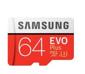 Cartão Samsung Micro Sdxc 64gb 100mb/s Sd Xperia Xz2 Xz3