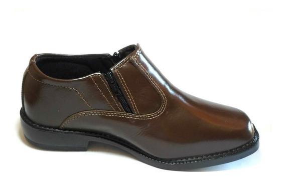 Sapato Social Couro Original Marca Campolina Solado Costurad