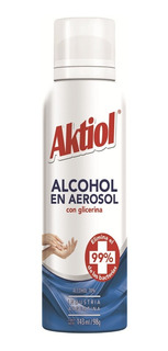 Alcohol En Aerosol Aktiol 143 Ml