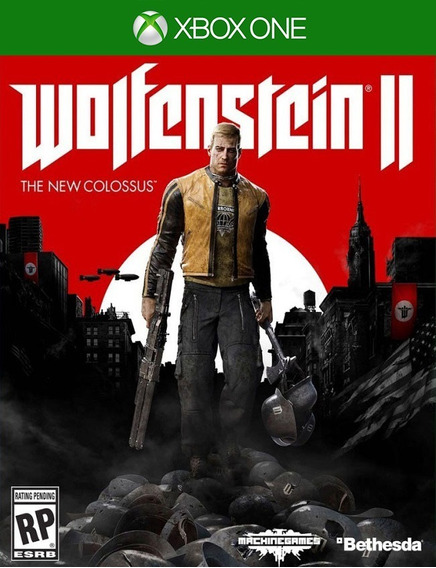 Wolfenstein 2 Colossus - Xbox One 25 Dígitos