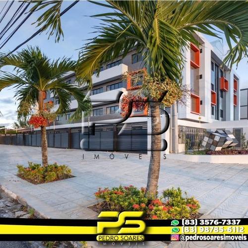Apartamento Com 2 Dormitórios À Venda, 50 M² Por R$ 174.900 - Jardim Cidade Universitária - João Pessoa/pb - Ap2815
