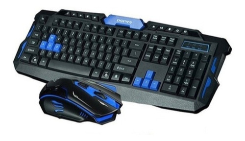 Kit Teclado + Mouse Gamer Inalambrico Hk8100