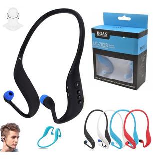 Fone Ouvido Sem Fio Sport Mp3 Bluetooth Cartão Radio Corrida