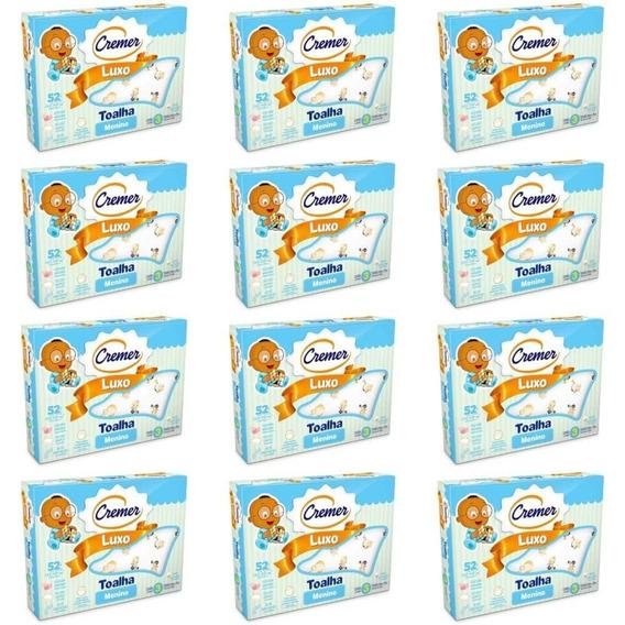 Cremer Luxo Toalha Infantil Estampada Menino C/3 (kit C/12)
