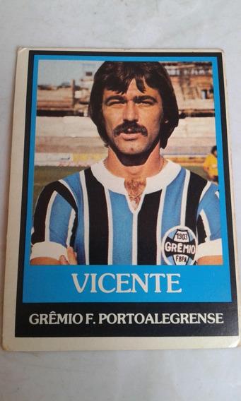 Ping Pong Futebol Cards Vicente Grêmio Nº 310
