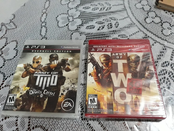 Lote Army Of Two Devil Cartel+army Of Two 40 Day Lacradops3