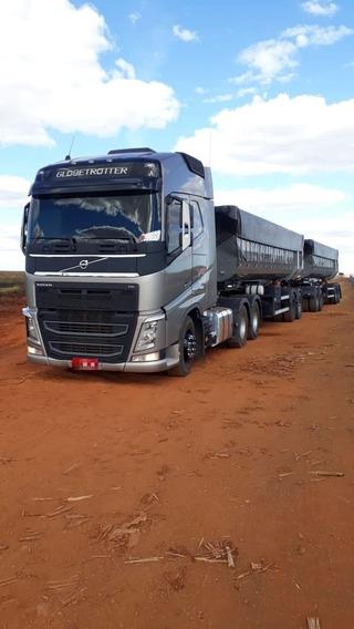 Volvo Fh 540 6x4 Ishift, Com 340 Mil Km