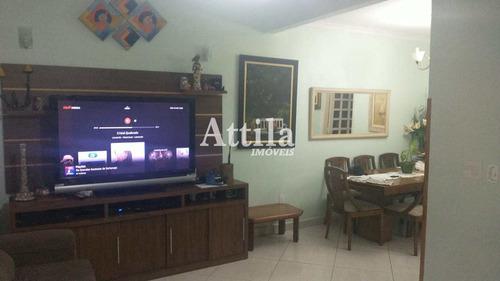 Imagem 1 de 16 de Sobrado Com 3 Dorms, Ponta Da Praia, Santos - R$ 679 Mil, Cod: 2612 - V2612
