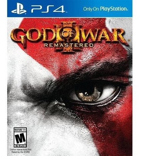 God Of War 3 Remastered Midia Fisica Ps4