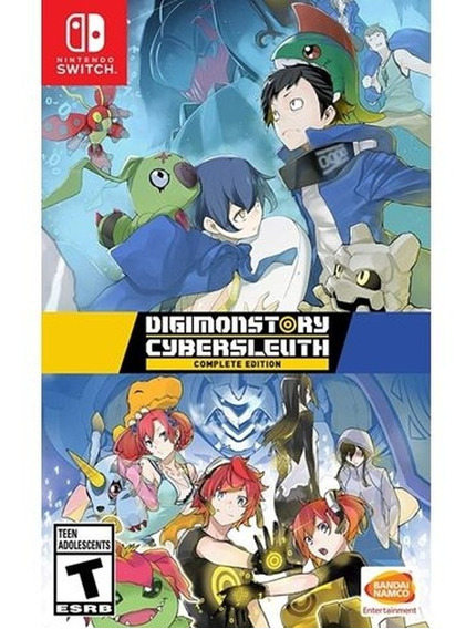 Digimon Story Cyber Sleuth Complete Edition - Switch