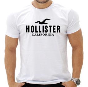 Camisa Masculina De Malha Hollister/abercrombie Lindas