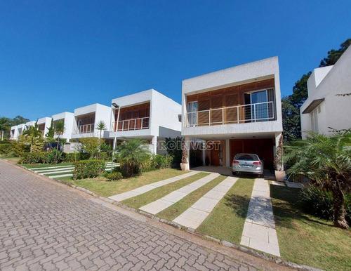 Imagem 1 de 30 de Casa Com 3 Dormitórios À Venda, 200 M² Por R$ 1.050.000,00 - Granja Viana - Cotia/sp - Ca18695
