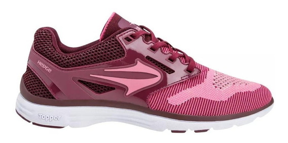 Topper Zapatilla Running Mujer Lady Move Il Knitted Rosa