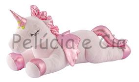 Unicórnio Pelúcia Almofada 90cm Bebe Fofinho