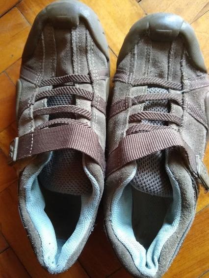 Zapatillas Nobuk Con Abrojo - Cheeky Talle 33