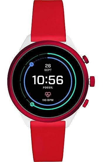Smartwatch Fossil Sport 41 Unisex 41m Reloj Inteligente Rojo