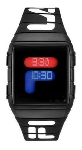 Relógio Masculino Fila Total Black Preto Unissex Promoção