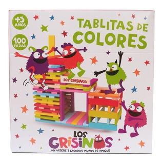 Juego Grisino Tablita De Colores Madera