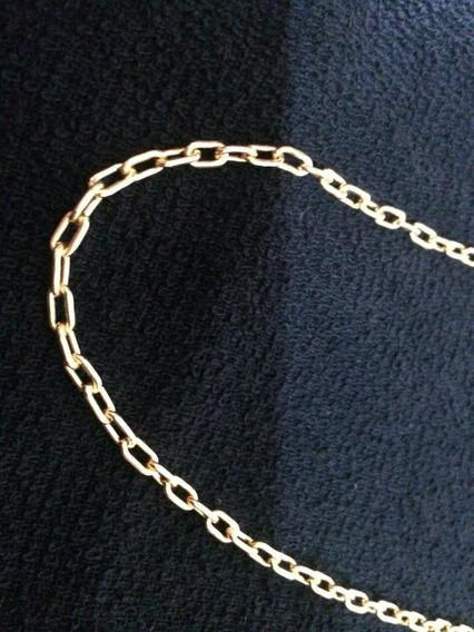 Cordão De Prata 950 Banhado A Ouro