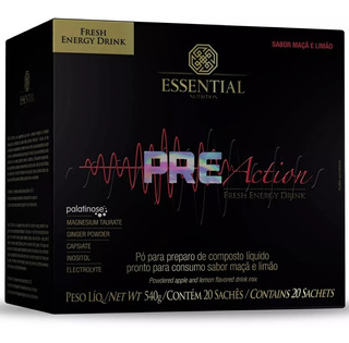 Pre Action 20 Sachês (540g) - Essential Nutrition
