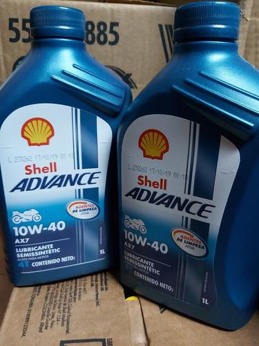 Aceite Shell Semisintetico 10w40 (1 Litro)