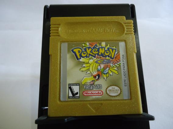 Pokémon Versão Gold Muito Conservada Gb Gbc Gba