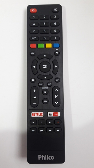 Controle Remoto Philco Smart Netflix/youtube Ph55 Orig Usado