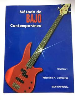 Método. Bajo Eléctrico Valentino Contreras Vol. 1 Y 2