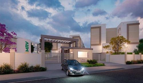 Imagem 1 de 21 de Apartamento Com 2 Quartos À Venda, 41 M² , Área De Lazer, 1 Vaga, Financia - Messejana - Fortaleza/ce - Ap1877