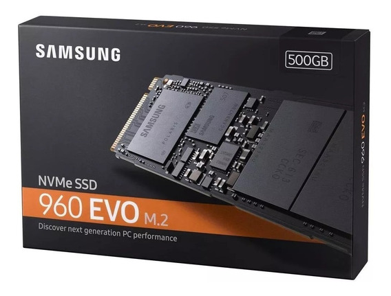 [openbox] Ssd Samsung 960 Evo M.2 500gb Pcie - Original