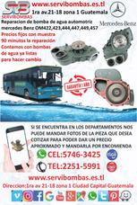 Reparación De Bomba De Agua Automotriz Mercedes 422,449,423
