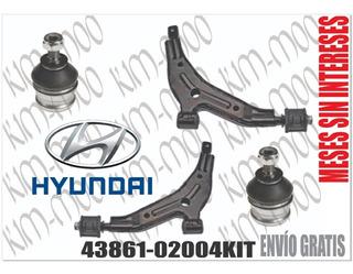 2 Horquillas Delanteras Completas Hyundai Atos 1.0 1.1 99-10