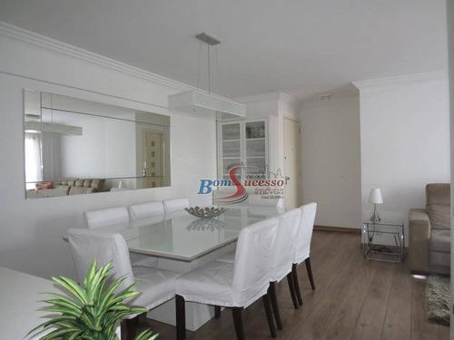 Imagem 1 de 21 de Apartamento Com 3 Dormitórios À Venda, 90 M² Por R$ 650.000,00 - Tatuapé - São Paulo/sp - Ap2790