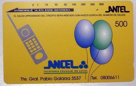 Tarjeta Telefonica Sistema Tamura Uruguay