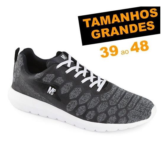 Tênis Ms Fly 0727 Tamanhos Grandes 44 45 46 47 48 Caminhada