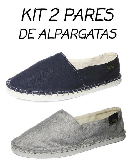 Sapato Alpargata Sapatilha 2 Par Promoção