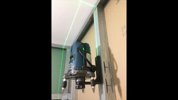 Kit Tripé 120cm E Suporte Magnetico Para Nivel A Laser 5/8 P