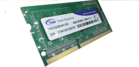Memoria Ram Team Group 4gb Ddr3l 1600 Mhz