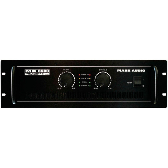 Amplificador Estéreo 2 Ch Mk 8500 Mark Audio 1500