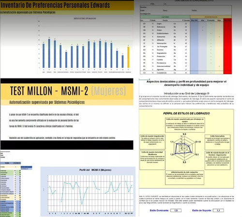 Software Psicometria Rrhh 35 Test Psicologicos Mercado Libre