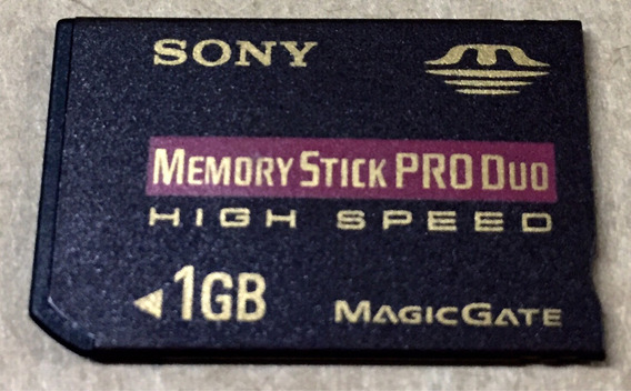 Memory Stick Produo 1gb