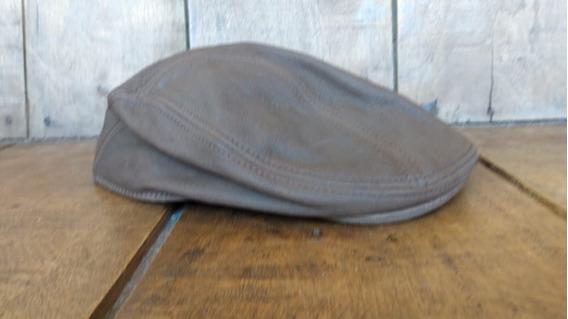 Boina Stetson Couro Eua Flatcap (estilo Italiana) Ñ Rot Hods