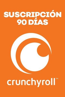 Crunchyroll - Membresía 90 Días