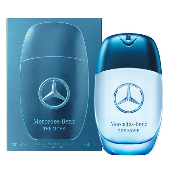 Perfume Original Mercedes Benz The Move 100ml Lacrado