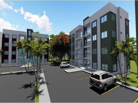 Proyecto De Apartamentos En Villa Mella